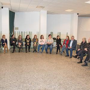 Las AMPAS de los Colegios Diocesanos con el Obispo de Málaga