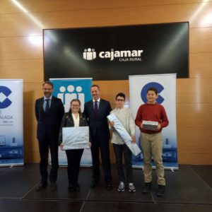 Alumna de Padre Jacobo primer premio de felicitaciones navideñas de COPE Málaga