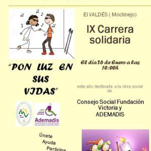 9ª Carrera solidaria en Moclinejo