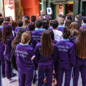 """Los alumnos del Colegio Diocesano Santa Rosa de Lima """"ayudan a ayudar"""""""