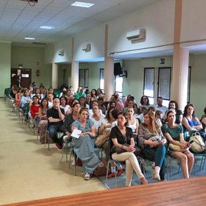 Reunión de la Fundación Victoria con la comunidad educativa de La Presentación