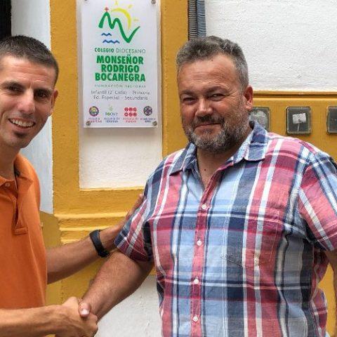 Renovado el acuerdo de la Escuela Deportiva con el CB Marbella