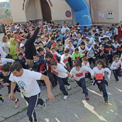 El colegio Nuestra Señora de Lourdes organiza la X Carrera Solidaria en El Valdés