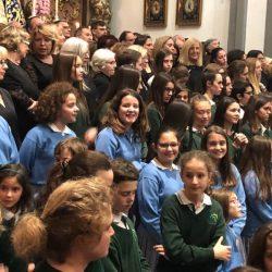 Concierto de los Pueri Cantores de Fundación Victoria en el Museo de Málaga