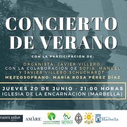 Los 'Pueri Cantores Málaga', en el tradicional Concierto de Verano de Marbella