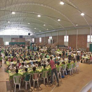 Un centenar de alumnos de Fundación Victoria en la final de la Liga Escolar de Ajedrez