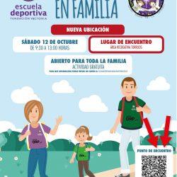 Primera jornada de «Senderismo en familia»