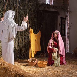 Málaga vuelve a vivir su Belén Viviente Diocesano