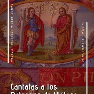 Cantatas a los Patronos de Málaga en el concierto de la CEM