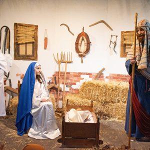 Málaga vive el misterio de la Navidad en el Belén Diocesano
