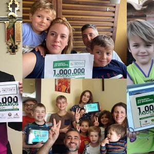 Tres millones de pasos solidarios para las familias