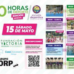 Sábado 15 de mayo, edición especial de las 10 horas de Deporte